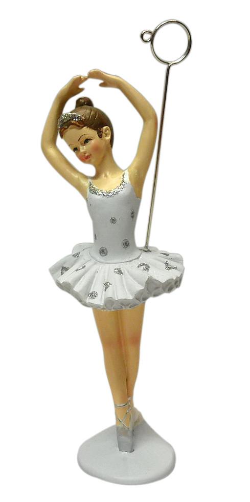 f64ceea07be1e Figurine danseuse ballerine classique porte-photo pour une communion ...