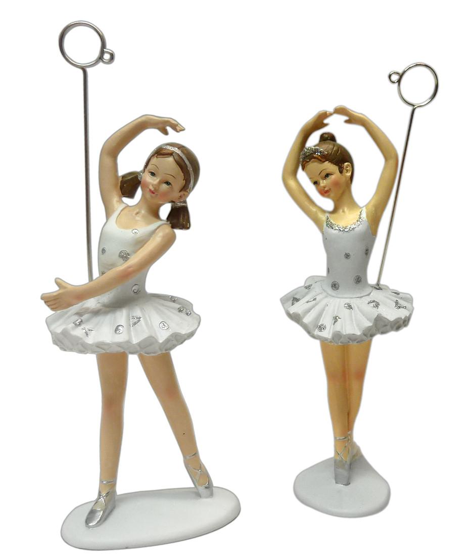 Sujet danseuse ballerine classique porte-photo grand modèle