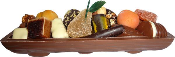 La bûche de Dragées & Chocolats