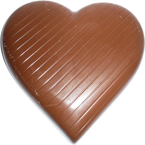 Coeur au chocolat au lait de Dragées & Chocolats