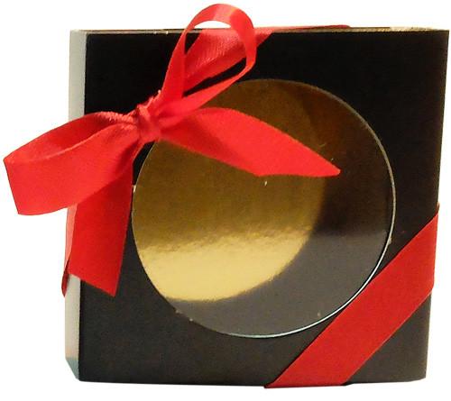 La boîte à dragées marron de Dragées & Chocolats