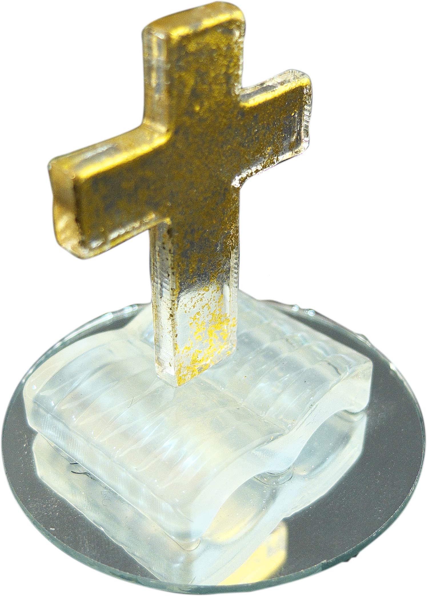 Livre ouvert et croix
