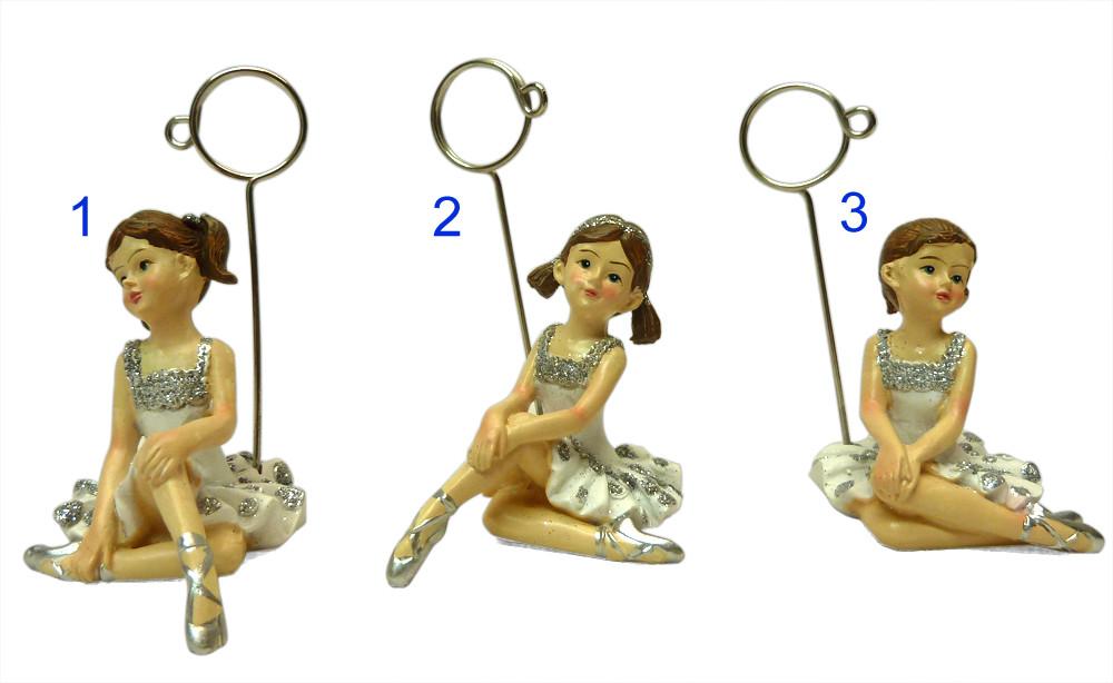 Ensemble des figurines danseuses ballerines classiques porte-photo