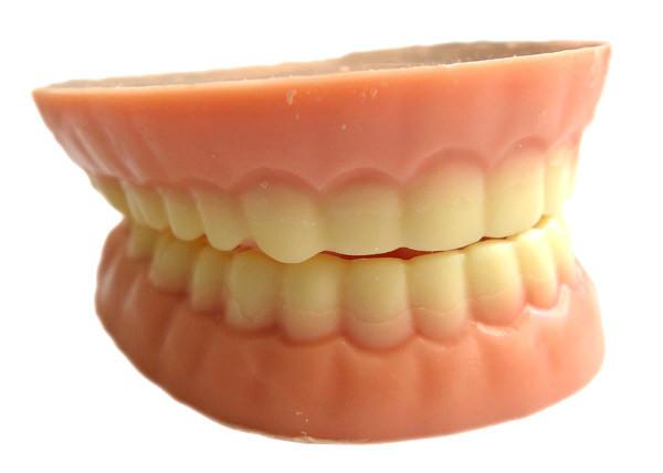 Le dentier au chocolat blanc