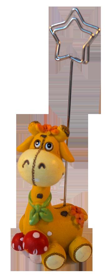 Notre girafe clip photo