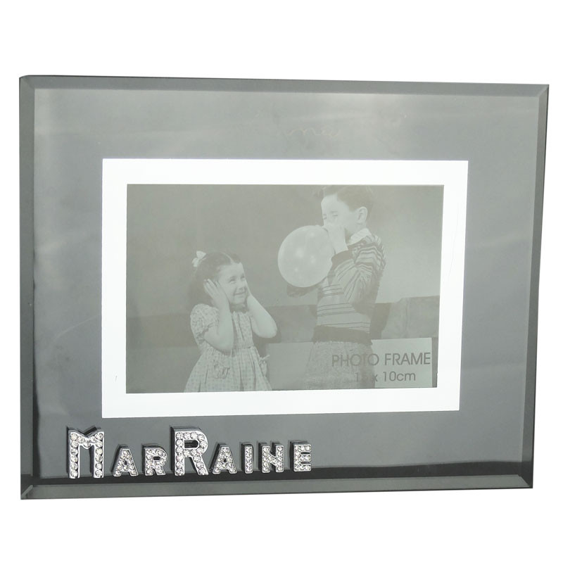 Cadre photo Strass Marraine - Dragées & Chocolats