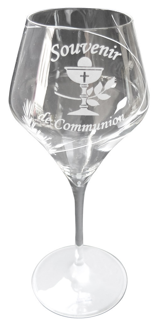 Verre Souvenir de Communion Calice - Dragées & Chocolats