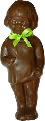 La poupée en chocolat