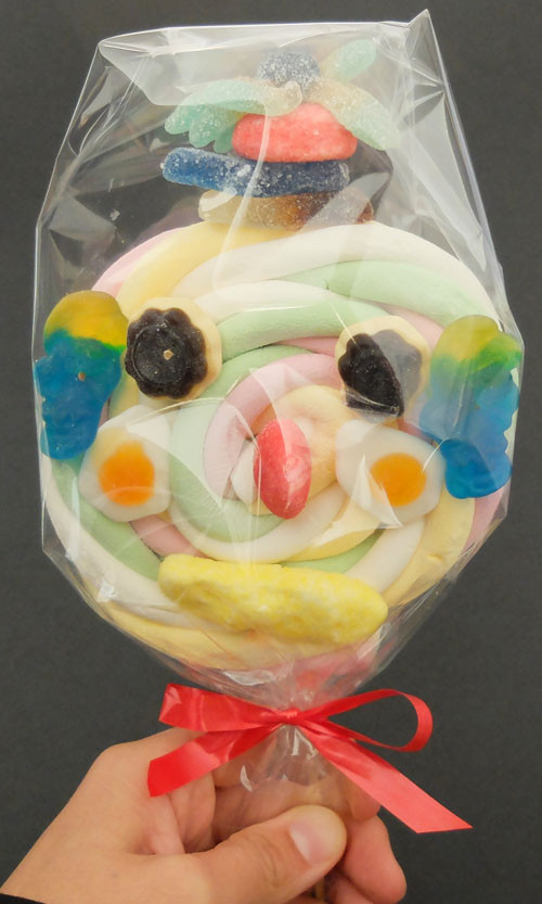 Brochette de bonbons Clown