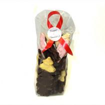 Sachet de 12 guimauves au chocolat noir