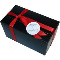 Notre ballotin de 125 gr. de chocolats