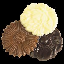Notre chocolat Caraque Fleur