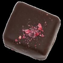 Le chocolat extravagant Géranium de Dragées & Chocolats