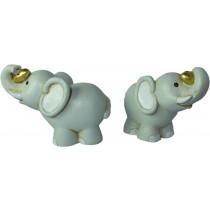 Sujet Elephant avec coeur or