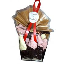 Sachet 180gr de guimauves de Noël au chocolat