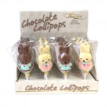 Sucettes Miffy en chocolat - bonbon Miffy