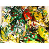Nos papillotes en chocolat et pate de fruit