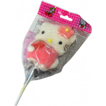 Sucette bonbon Hello Kitty en guimauve de Dragées & Chocolats