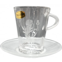Tasse en verre de communion FILLE
