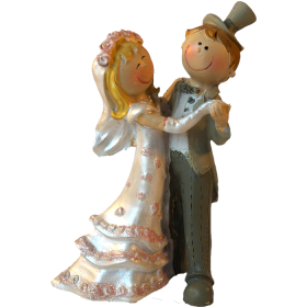 Sujet Couple de mariés