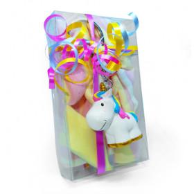 Porte clé licorne et ses carrés magiques