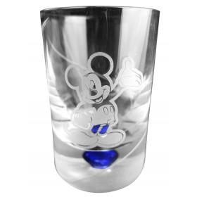 Verre de baptême Mickey bleu