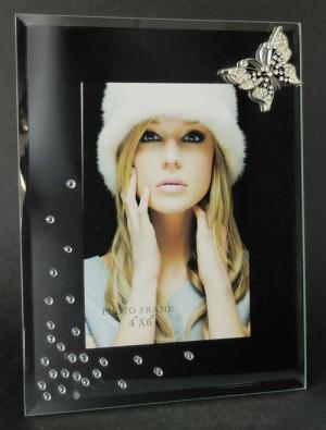 Notre cadre photo en verre (miroir)