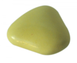 Notre dragée mini coeur écru - chocolat