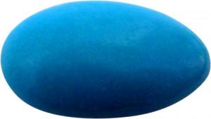 Dragée bleue turquoise au Chocolat - 100g