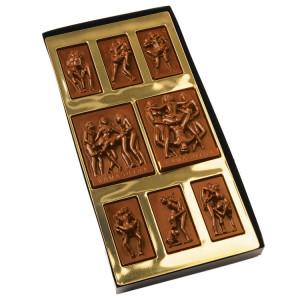 Kamasutra en chocolat de Dragées & Chocolats - chocolat au lait