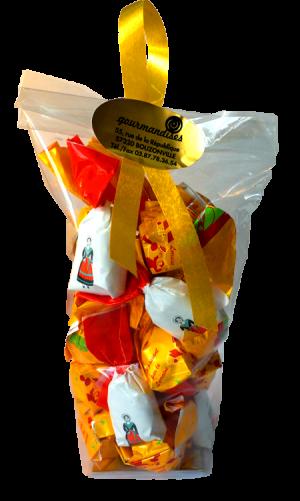 Sachet mélange bonbons mirabelle