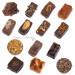 Notre assortiment de chocolats sans sucre