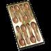 Cuillières en chocolat LAIT