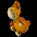 Girafe - dessus
