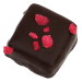 Chocolat extravagant Rose - 250g